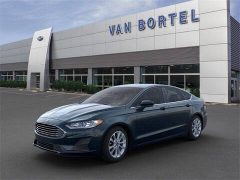 2020 Ford Fusion SE for sale at Van Bortel Ford in East Rochester NY