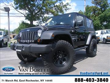2010 Jeep Wrangler for sale in East Rochester, NY