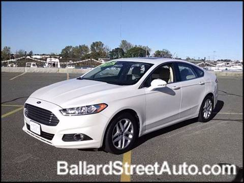 2013 Ford Fusion for sale in Saugus, MA