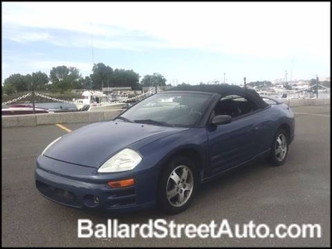 2003 Mitsubishi Eclipse Spyder for sale in Saugus, MA