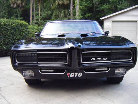 1969 Pontiac GTO for sale at MOKENA AUTOMOTIVE INC in Mokena IL