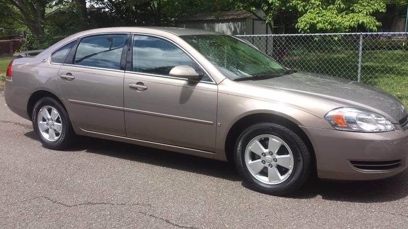 2007 Chevrolet Impala LT 4dr Sedan w/ roof rail curtain delete - Knoxville TN