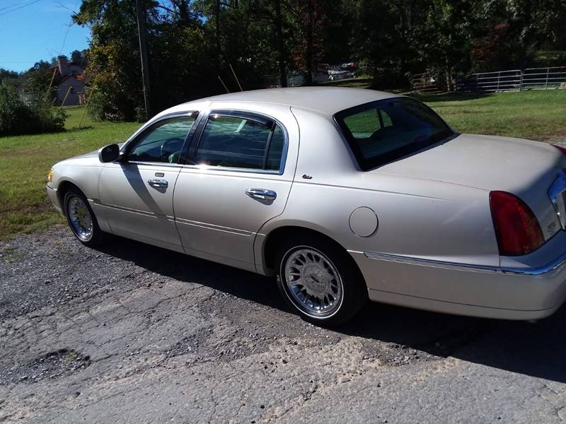 2000 Lincoln Town Car Cartier 4dr Sedan In Knoxville Tn Pastime