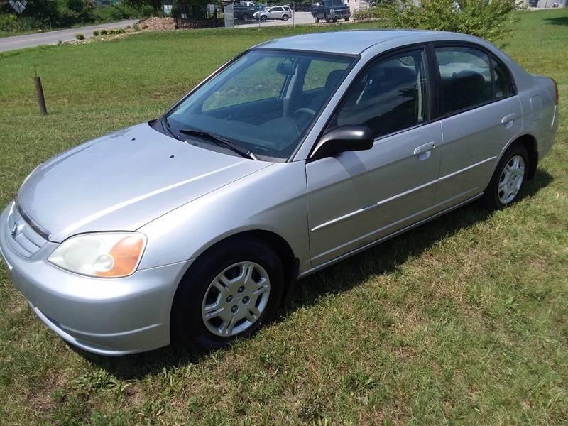 2002 Honda Civic LX 4dr Sedan   Knoxville TN