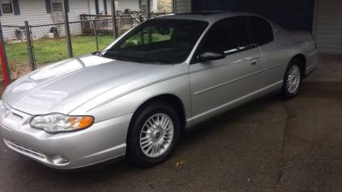 2001 Chevrolet Monte Carlo for sale in Knoxville, TN