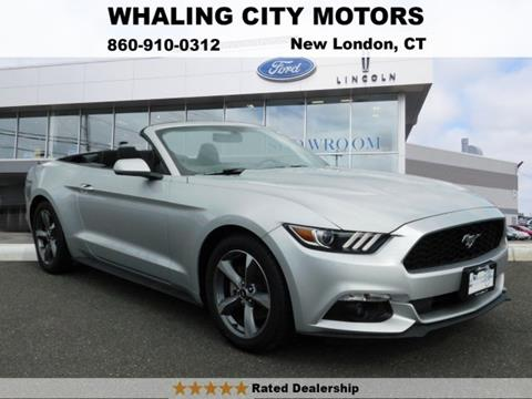 2016 Ford Mustang for sale in New London, CT