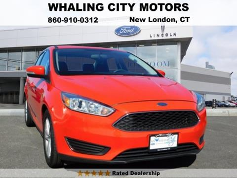 2015 Ford Focus for sale in New London CT