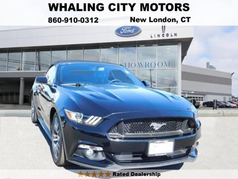 2015 Ford Mustang for sale in New London, CT
