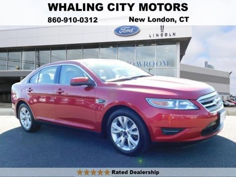 2012 Ford Taurus for sale in New London CT