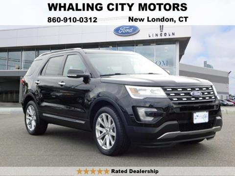 2016 Ford Explorer for sale in New London, CT