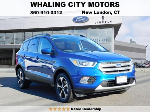 2018 Ford Escape for sale in New London, CT