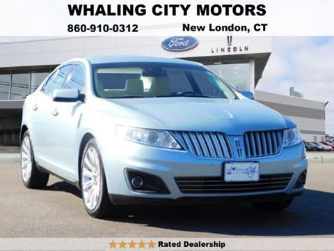 2009 Lincoln MKS for sale in New London CT