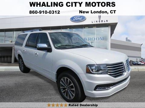 2015 Lincoln Navigator L for sale in New London, CT