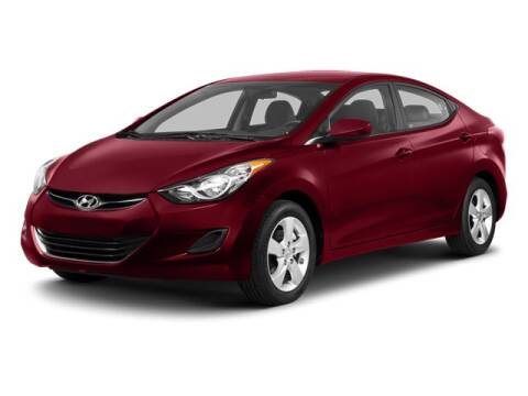 2013 Hyundai Elantra GLS for sale at WHALING CITY FORD LINCOLN MAZDA in New London CT