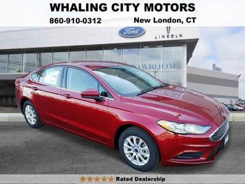 2017 Ford Fusion for sale in New London, CT