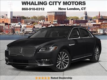 2017 Lincoln Continental for sale in New London, CT