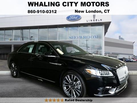 2017 Lincoln Continental for sale in New London CT