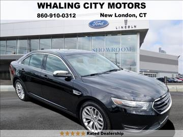 2016 Ford Taurus for sale in New London, CT
