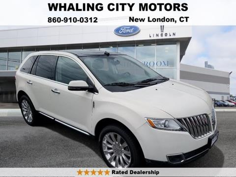 2013 Lincoln MKX for sale in New London, CT