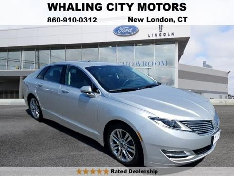 2013 Lincoln MKZ Hybrid for sale in New London, CT