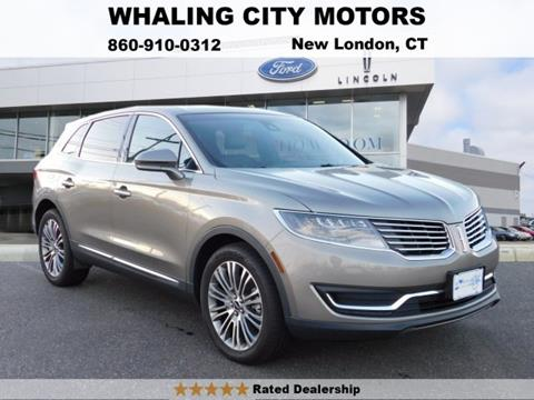 2017 Lincoln MKX for sale in New London CT