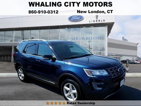 2017 Ford Explorer for sale in New London, CT