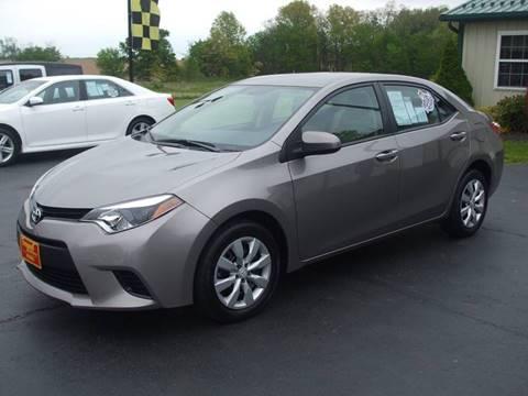 2014 Toyota Corolla for sale in Creston OH