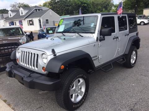 2011 Jeep Wrangler Unlimited for sale in Huntington Station, NY