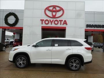 2017 Toyota Highlander for sale in Brookhaven, MS