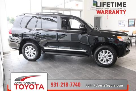 2017 Toyota Land Cruiser for sale in Manchester, TN