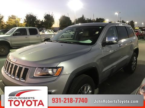2015 Jeep Grand Cherokee for sale in Manchester, TN