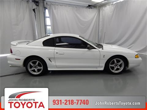 1998 Ford Mustang SVT Cobra for sale in Manchester, TN