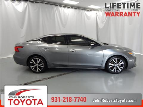 2016 Nissan Maxima For Sale In Manchester, TN