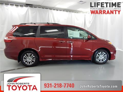 Nice 2019 Toyota Sienna For Sale In Manchester, TN