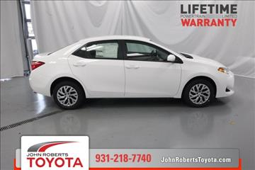 2017 Toyota Corolla for sale in Manchester, TN