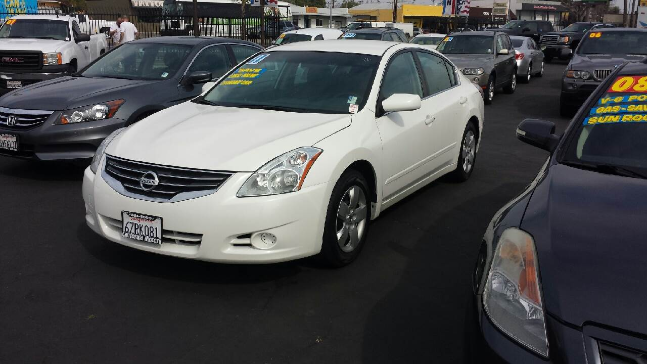2011 nissan altima 2.5 s 4dr sedan in lodi ca - california motors