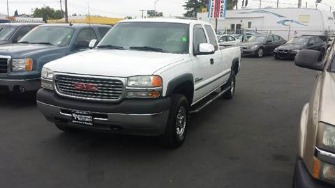 2001 GMC Sierra 2500HD for sale in Lodi, CA