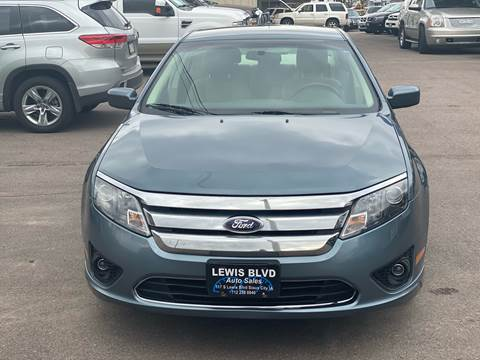 2012 Ford Fusion for sale at Lewis Blvd Auto Sales in Sioux City IA