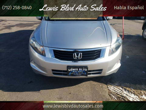 2010 Honda Accord for sale at Lewis Blvd Auto Sales in Sioux City IA