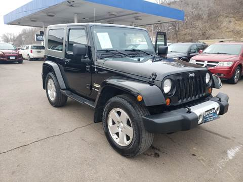 2009 Jeep Wrangler Sahara for sale at Lewis Blvd Auto Sales in Sioux City IA