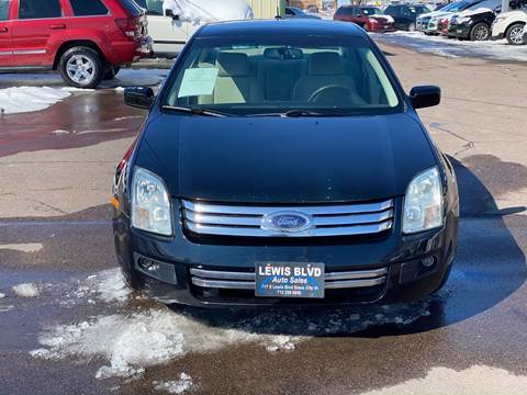 2008 Ford Fusion for sale at Lewis Blvd Auto Sales in Sioux City IA