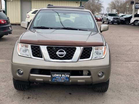 2006 Nissan Pathfinder for sale at Lewis Blvd Auto Sales in Sioux City IA
