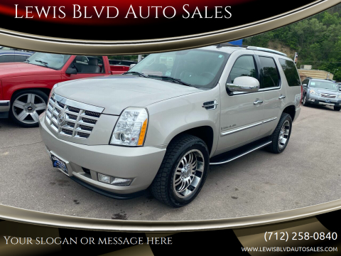 2007 Cadillac Escalade for sale at Lewis Blvd Auto Sales in Sioux City IA