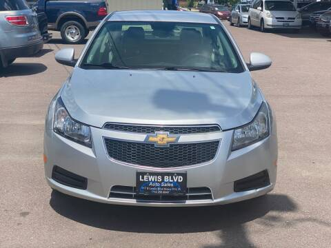 2013 Chevrolet Cruze for sale at Lewis Blvd Auto Sales in Sioux City IA