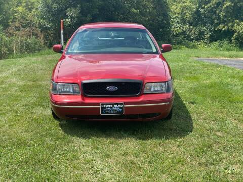 1999 Ford Crown Victoria for sale at Lewis Blvd Auto Sales in Sioux City IA