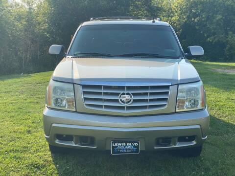 2003 Cadillac Escalade for sale at Lewis Blvd Auto Sales in Sioux City IA