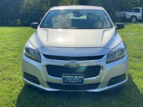 2015 Chevrolet Malibu for sale at Lewis Blvd Auto Sales in Sioux City IA
