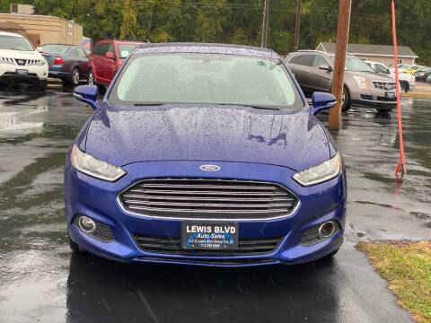 2013 Ford Fusion for sale at Lewis Blvd Auto Sales in Sioux City IA