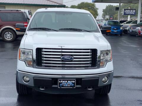 2012 Ford F-150 for sale at Lewis Blvd Auto Sales in Sioux City IA