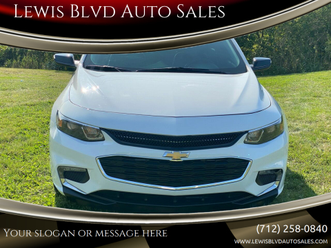 2018 Chevrolet Malibu for sale at Lewis Blvd Auto Sales in Sioux City IA